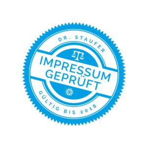 Designery-Rechtssicheres-Impressum-Siegel-Dr-Staufer-Anwalt-Medizinrecht